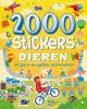 ,2000 stickers Dieren