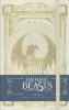 Insight Editions,Fantastic Beasts Macusa Hardcover Ruled Journal