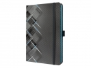 ,<b>notitieboek Sigel Conceptum Look Drive hardcover A5 Neon    Blue</b>
