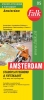 ,Falk stadsplattegrond & fietskaart Amsterdam