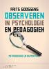 <b>Frits  Goossens</b>,Observeren in psychologie en pedagogiek