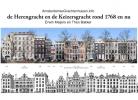,De Herengracht en de Keizersgracht rond 1768 en nu