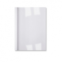 , Thermische omslag GBC A4 1.5mm linnen wit 100stuks