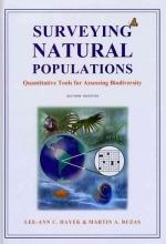 Lee-Ann Hayek,   Martin A. Buzas Surveying Natural Populations