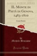 Bruzzone, Michele Bruzzone, M: Monte di Pietà di Genova, 1483-1810