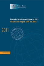 World Trade Organization Dispute Settlement Reports 2011
