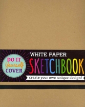 Do It Yourself Cover Sketchbook - White Paper