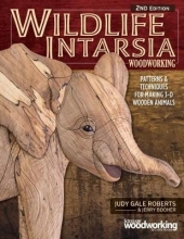 Judy Gale Roberts,   Jerry Booher Wildlife Intarsia Woodworking 2nd Edition