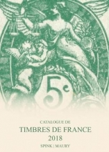 Maury, Spink Catalogue de Timbres de France 2018
