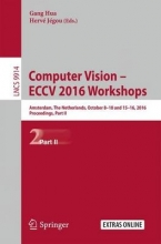 Computer Vision - ECCV 2016 Workshops
