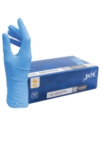 , Handschoen Euro nitril M blauw doos à 100 stuks