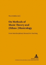 On Methods of Music Theory and (Ethno-) Musicology