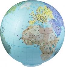 , Inflatable globe 85 political XXL