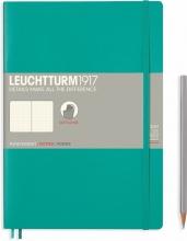 Lt355295 , Leuchtturm notitieboek composition 178x254 mm dots/puntjes emerald green