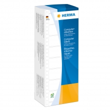 , Etiket Herma 8210 88.9x23Mm 1-baans wit 6000stuks