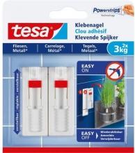 , Klevende spijker Tesa tegels en metaal verstelbaar 3kg
