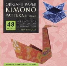 Tuttle Origami Kimono Paper Patterns Small