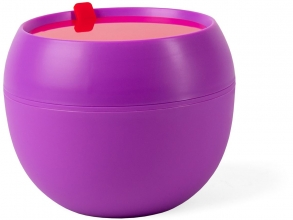 , Quarto colori on the go lunch bowl  violet/vivid red