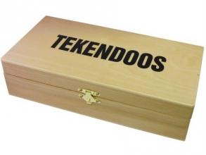 Tekendoos nummer 3 groot 270x150x80mm hout