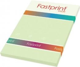 , Kopieerpapier Fastprint A4 80gr lichtgroen 100vel