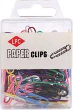, Paperclip LPC 28mm 100stuks assorti