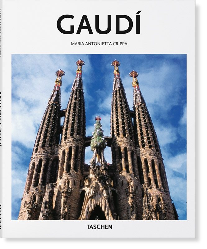 Marie Antonietta  Crippa, Peter  Gössel,Gaudi basismonografie