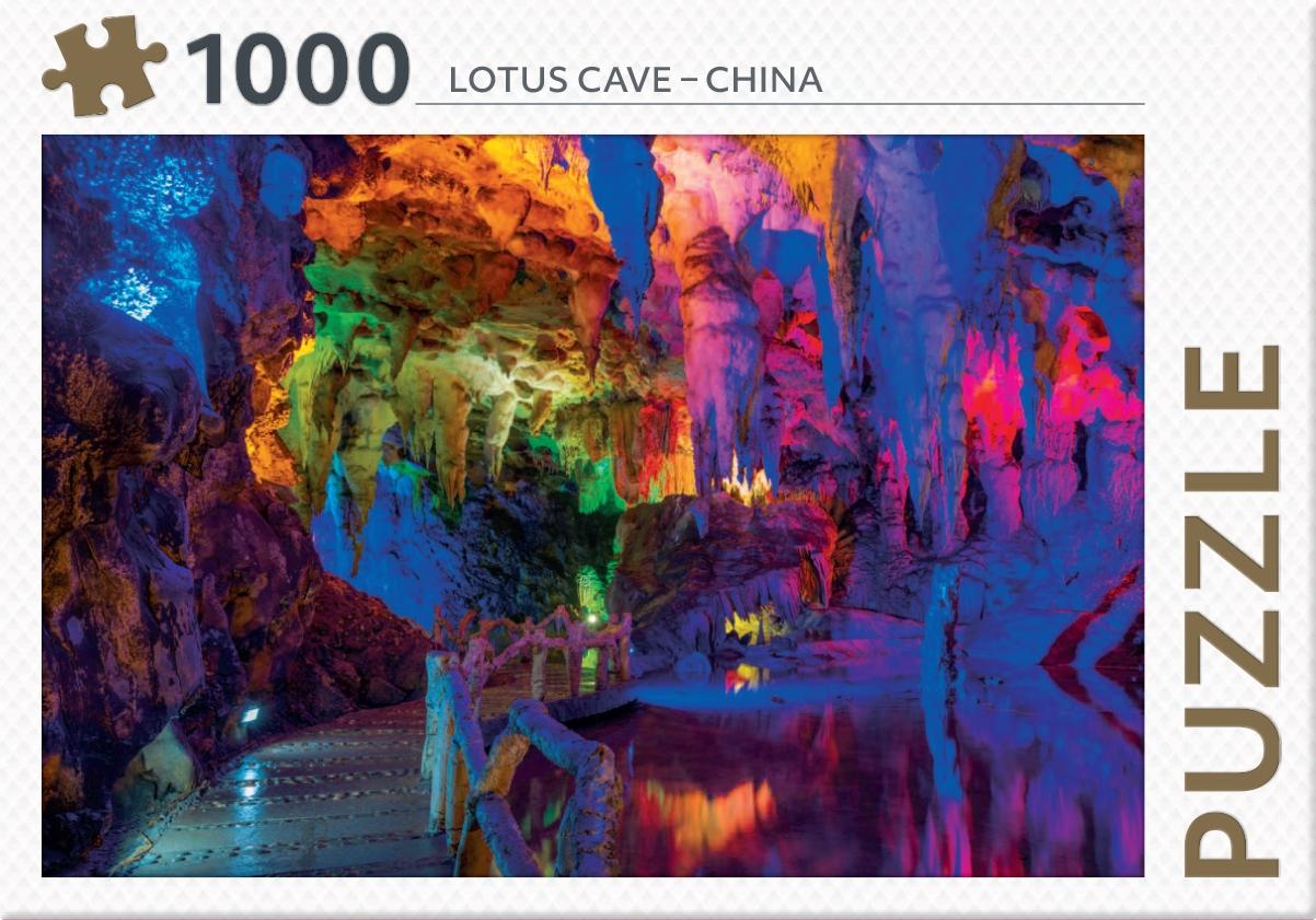 ,Lotus cave - China - puzzel 1000 stukjes
