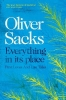 Sacks Oliver, Everything in Its Place