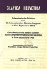 , Schweizerische Beitraege Zum IX. Internationalen Slavistenkongress in Kiev, September 1983