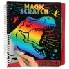 , Dino world magic-scratch book