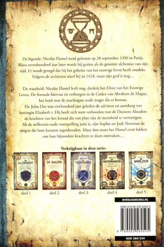 Michael Scott,De alchemist