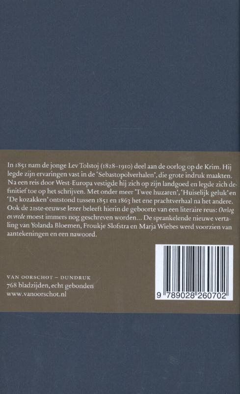 L.N. Tolstoj,Verhalen en novellen