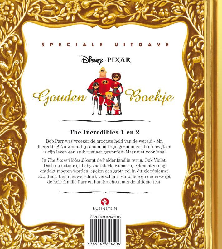 Disney Pixar,The Incredibles 1 & 2