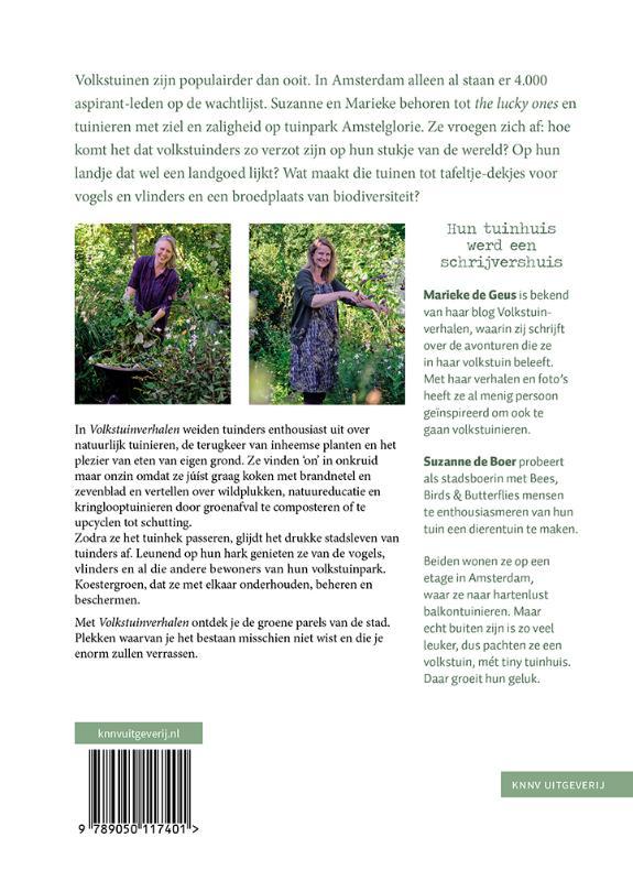 Suzanne de Boer, Marieke de Geus,Volkstuinverhalen