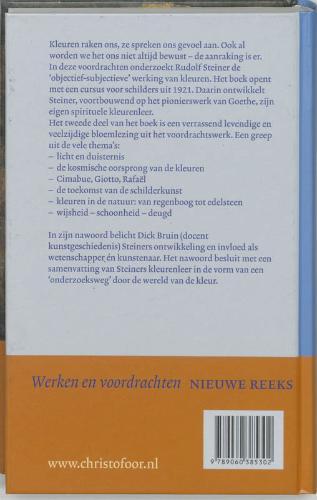 Rudolf Steiner,Het wezen van de kleuren