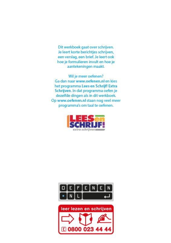 Fouke  Jansen, Ella  Bohnenn,Lees en Schrijf!