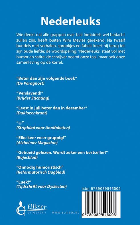 Wim Meyles,Nederleuks