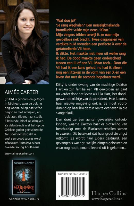 Aimée Carter,Gevangene