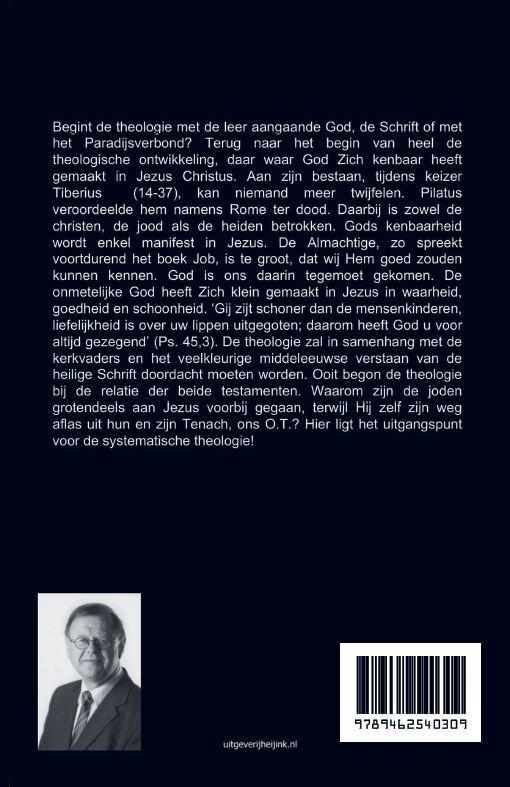 Dr. Peter Veldhuizen,de christelijke geloofsleer in twee testamenten weerspiegeld Analytisch deel