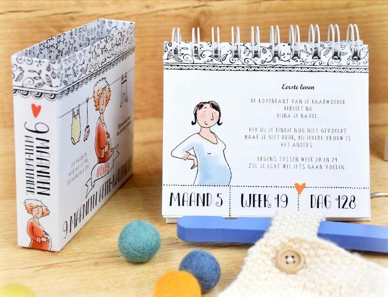 Pauline Oud,9 maanden - Aftelkalender