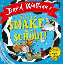 Walliams, David There`s a Snake in my School