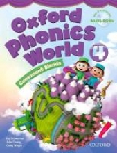 Oxford Phonics World 4 Student`s Book with MultiROM