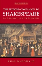 McDonald, Russ The Bedford Companion to Shakespeare