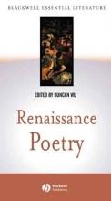 Duncan Wu Renaissance Poetry