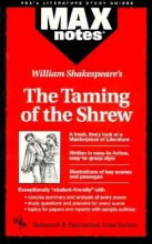 Garcez, Christopher Taming of the Shrew, the (Maxnotes Literature Guides)
