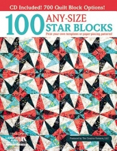 Arts, Leisure 100 Any-Size Star Blocks (with CD)
