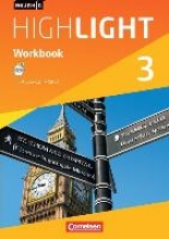 Berwick, Gwen,   Thorne, Sydney English G Highlight 03: 7. Schuljahr Hauptschule. Workbook mit Audios online