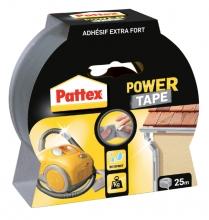 , Plakband Pattex Power Tape 50mmx25m grijs