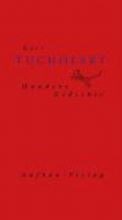 Tucholsky, Kurt Hundert Gedichte