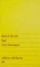 Brecht, Bertolt Baal